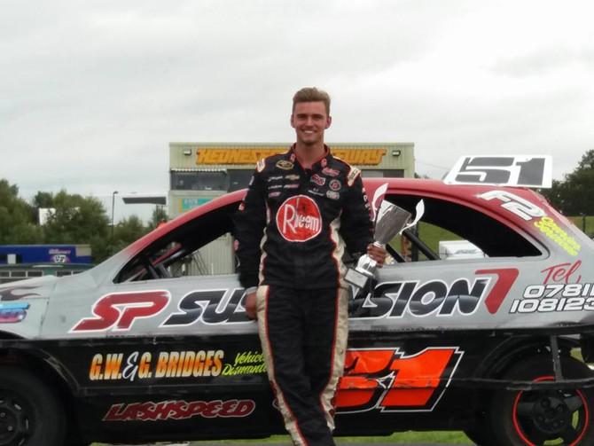 Tommy Aylward wins his first 1300 Stockcar Championship. 2017 Midland Champion!