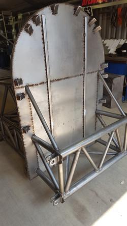 Hawker Bomber Cockpit
