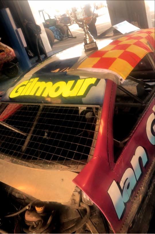 Zak Gilmour - 1300 Stockcar European Champion - Lochgelly