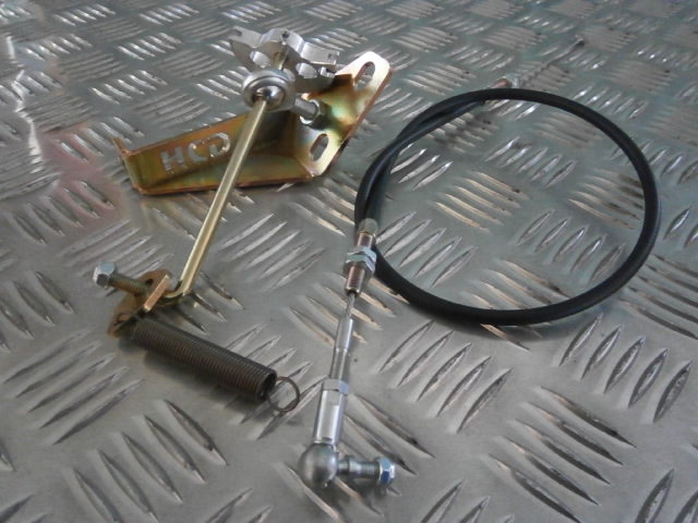 2L Pinto Throttle Linkage