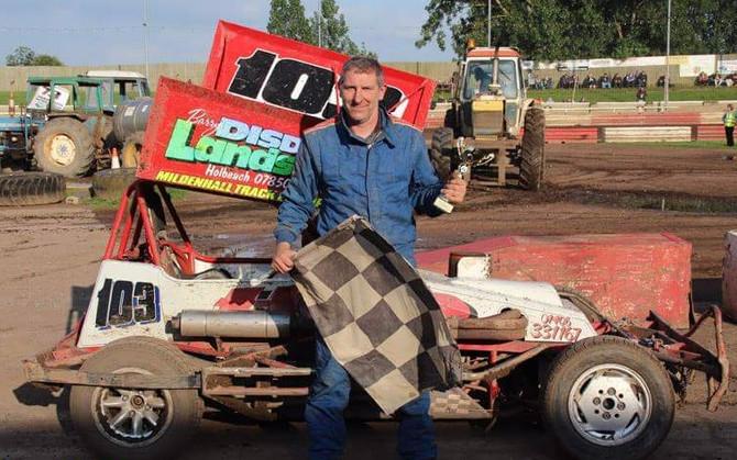 Carl Issitt - Track Champion 2016 Mildenhall