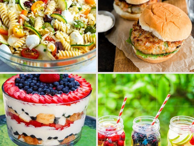 Happy Memorial Day! Festive Recipes for Gymnasts (and the whole BBQ)!