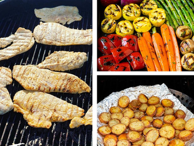 Summer Meal Prep Using Your Grill