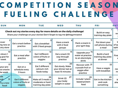 Competition Season Fueling Challenge!