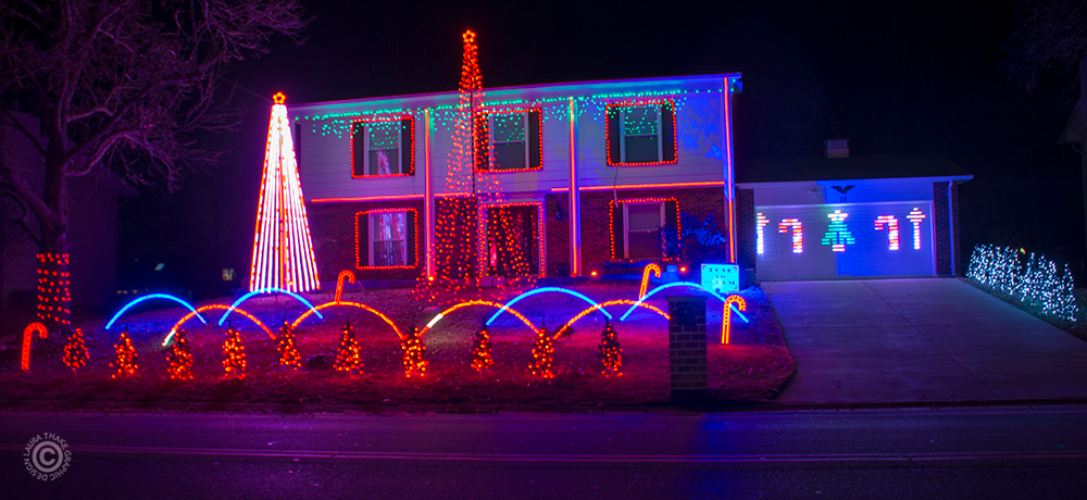 Holiday Light Hopping In Lake Saint Louis Mo 63367