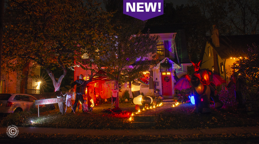 Halloween decorations and inflatables near me in Webster Groves MO.
