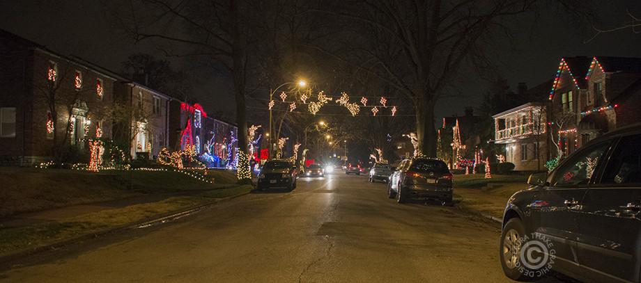 Angel Avenue in St. Louis Hills Mo.