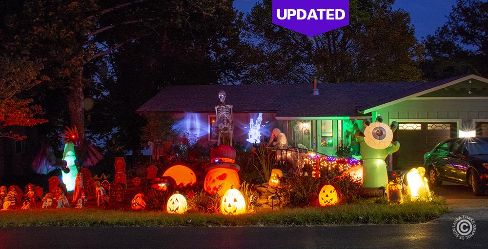 Halloween decorations near me in Fenton MO.