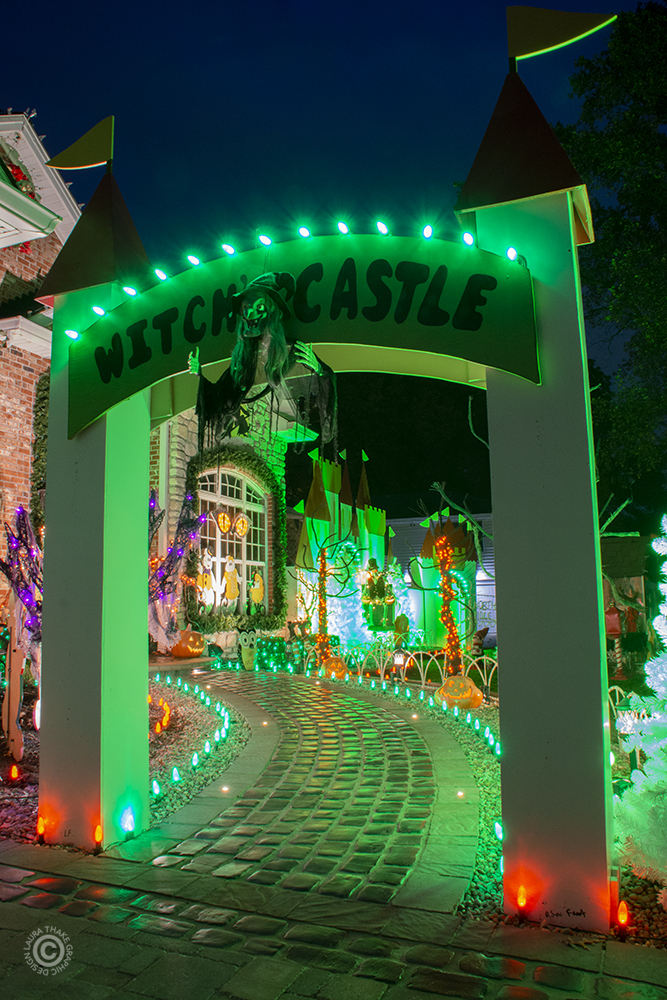 Enter the Witch's Castle for Halloween.
