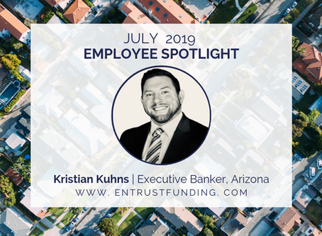 ETF Employee Spotlight: Arizona Executive Banker Kristian Kuhns