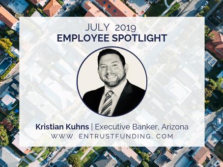 ETF Employee Spotlight: Arizona Executive Banker Kristian Kuhns