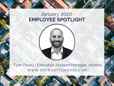 ETF Employee Spotlight: Executive Account Manager, Tyler Povey