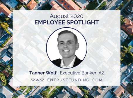 ETF Employee Spotlight: Executive Banker, Tanner Wolf