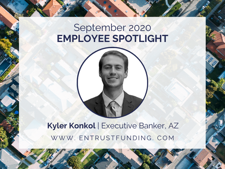 ETF Employee Spotlight: Executive Banker, Kyler Konkol