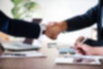Handshake agreement.