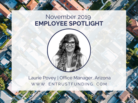 ETF Employee Spotlight: Office Manager Laurie Povey