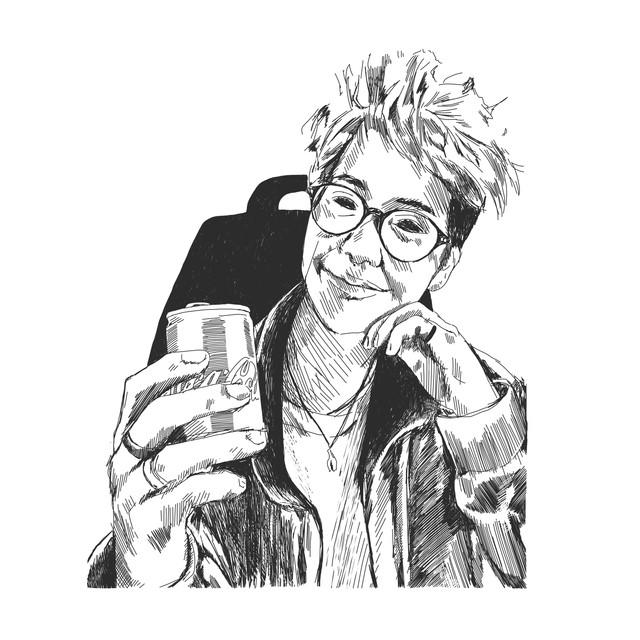 Cola Can Portrait