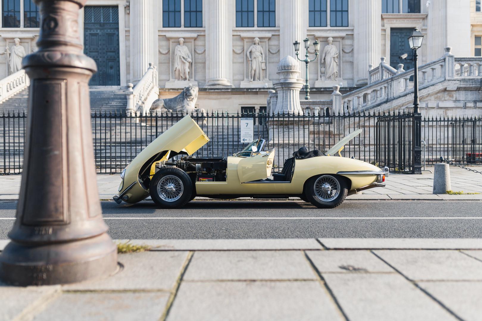 1970 Jaguar Type E 4.2L Cabriolet