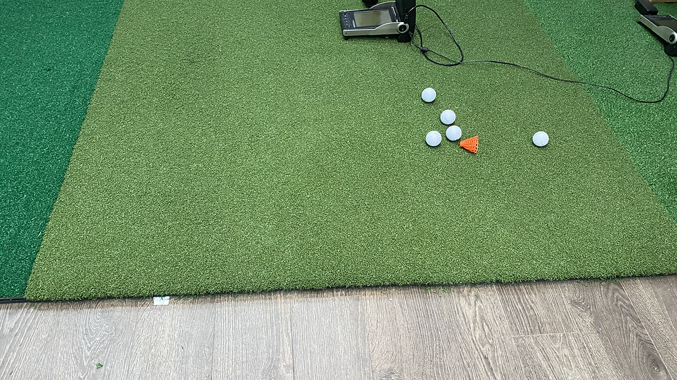 T40 golf mats and hitting strips
