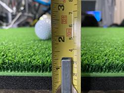 MIX35 mat thickness