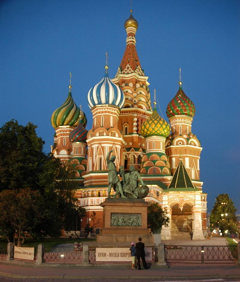 Basilius Kathedrale in Moskau