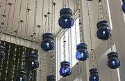 Blue Glass Lights