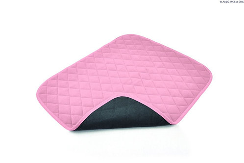 Vida Washable Chair Pad - 50 x 60cm - Pink