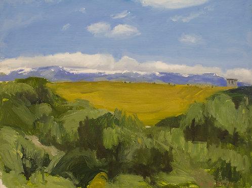 La Sierra de Madrid desde Mingorrubio