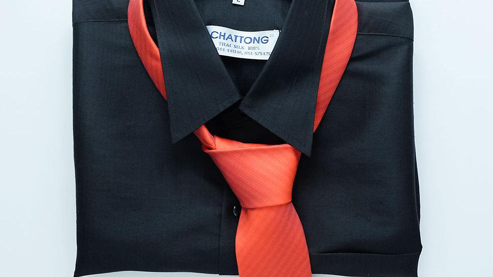 NT009 Turtle Pattern Silk Necktie
