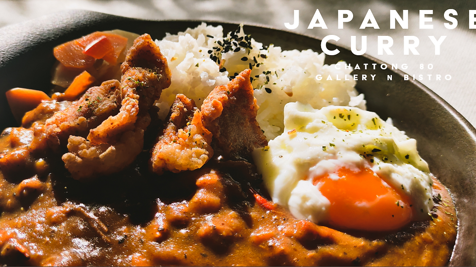 JAPANESE CURRY + fried chicken