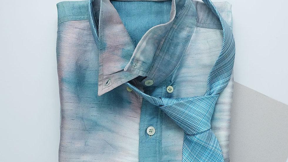 NT014 Self-Woven Silk Necktie