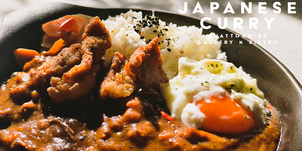 Weekly special Japanese curry