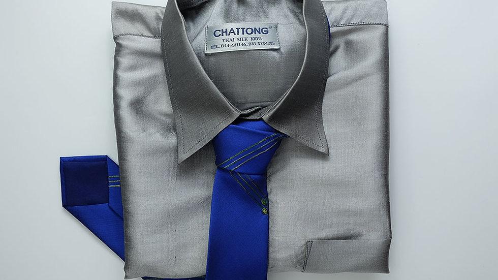 NT027 Self-Woven Silk Necktie
