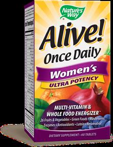 ALIVE! WOMEN'S MULTIVITAMIN