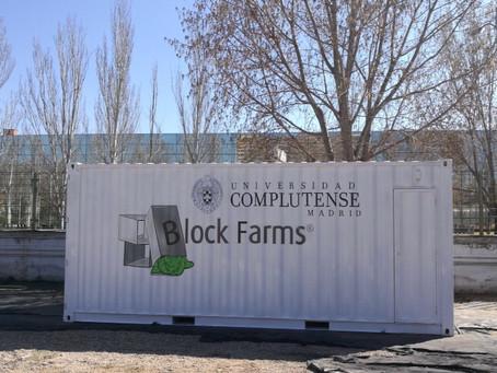 Block Farms en la Universidad Complutense de Madrid
