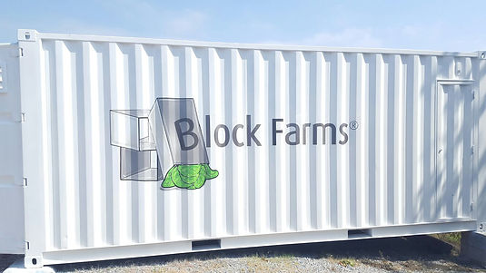 Block Farms huertos urbanos de alta producción