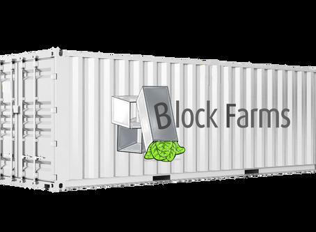Bienvenidos al mundo de la agricultura urbana, bienvenidos a Block Farms...