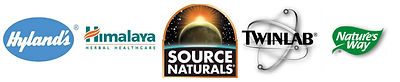 Hyland's, Himalaya, Source Naturals, Twinlab, Nature's Way