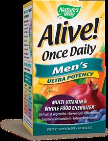 ALIVE! MEN'S MULTIVITAMIN