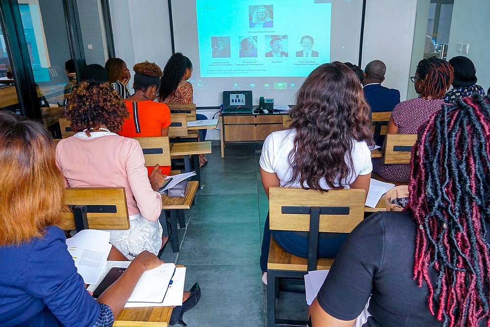 Webinar live viewing session Lagos