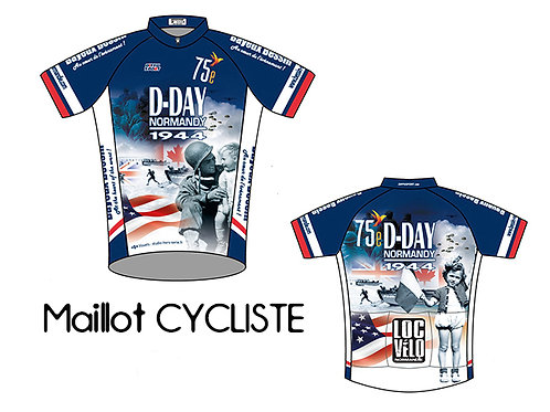 Maillot 75th Anniversary D-Day made in France