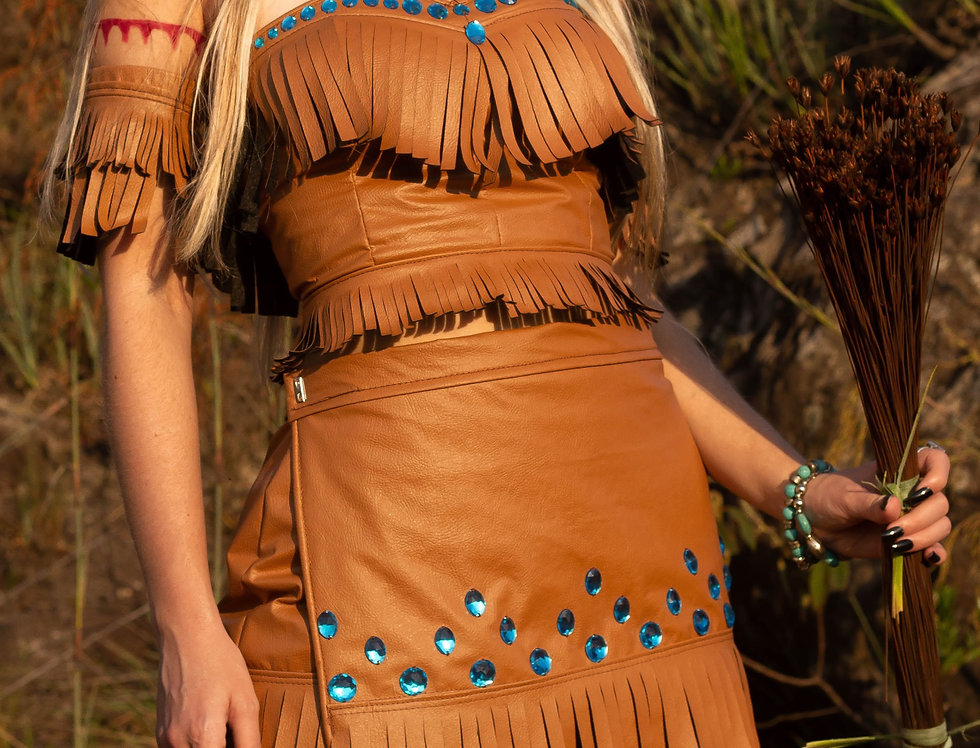 Fantasia  Pocahontas luxo Princess COMPLETA