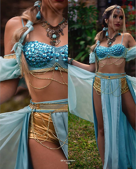 fantasia de jasmine - fantasia jasmine - princesa jasmine - fantasia de princesa - fantasia feminina de luxo - fantasia de carnaval