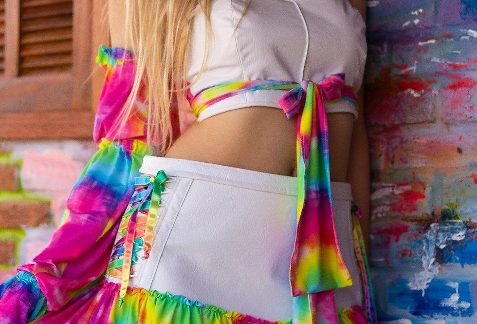 Conjunto Rainbow - Tie dye