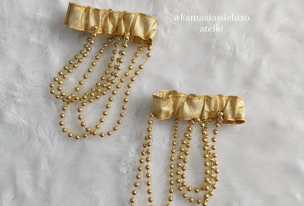 Adereço Mermaid dourado p/Braço