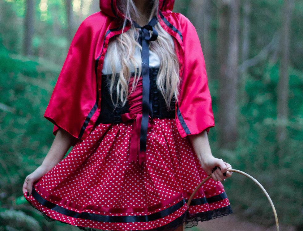 Fantasia de Chapeuzinho Vermelho