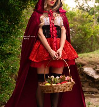 Fantasia Chapeuzinho Vermelho luxo