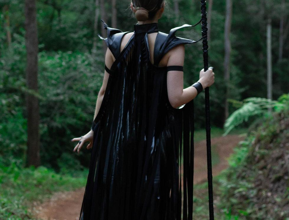 Tiara Chifre + Capa Maleficent