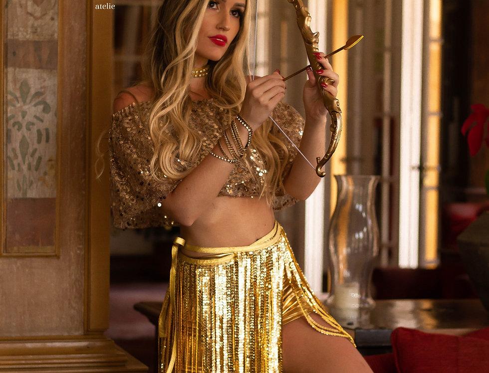 Fantasia Cupido dourado COMPLETA
