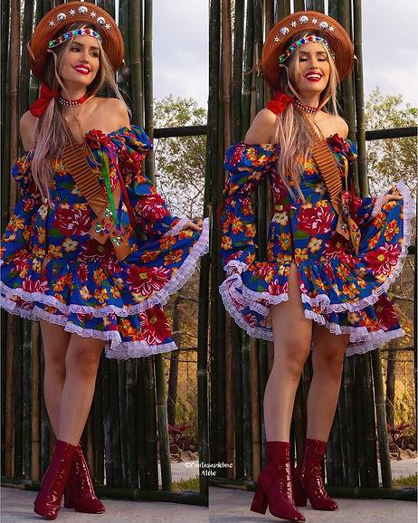 festa junina - vestido festa junina luxo - vestido caipira - vestido junino - vestido de festa junina moderno -  vestido de quadrilha